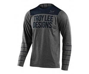Джерси TLD Skyline L/S Jersey [Pinstripe Heather/Gray]