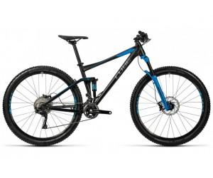 Велосипед Cube Stereo 120 HPA Race (black blue) 2016 год фото, купить, киев, запорожье