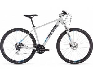 Велосипед Cube Aim RACE 29 (white´n´blue) 2019 года