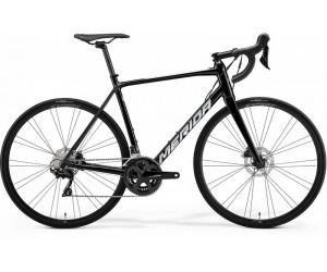 Велосипед MERIDA SCULTURA 400 METALLIC BLACK(SILVER) 2021 год