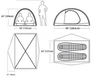 Палатка MARMOT Traillight FX 2P