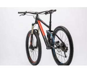 Велосипед Cube Stereo 160 HPA Race 27.5 (black flashred blue) 2016 год