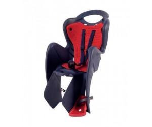 Сиденье детское Bellelli MR Fox Standart B-Fix серое с красной подкладкой фото, купить, киев, запорожье