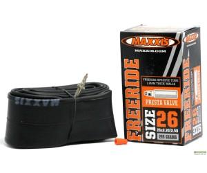 Камера Maxxis Freeride 26x2.20-2.50 (Presta) фото, купить, киев, запорожье