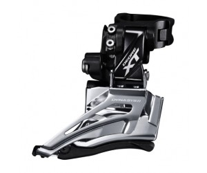 Переключатель передний Shimano FD-M8025-H DEORE XT, 2X11 HIGH CLAMP, DOWN-SWING