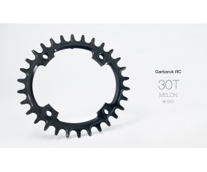 Звезда Garbaruk овал (MELON) 96 BCD (Symmetrical for Shimano Compact Triple)