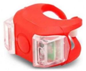 Силиконовая задняя мигалка Жабка (красный корпус) фото, купить, киев, запорожье