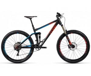 Велосипед Cube Stereo 160 HPA Race 27.5 black flashred blue фото, купить, киев, запорожье