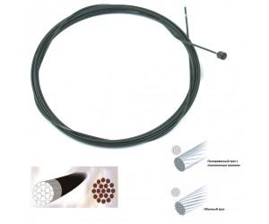 Нержавеющий тросик переключения с тефлоновым покрытием Sheng-An фото, купить, киев, запорожье