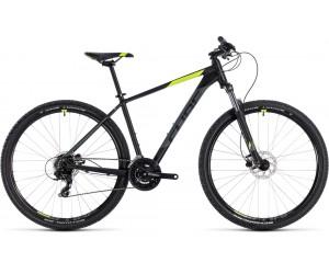 Велосипед Cube Aim Pro 29 (black´n´flashyellow) 2018 года фото, купить, киев, запорожье