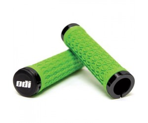 Грипсы ODI SDG LOCK-ON GRIPS Green w/Black Clamps (черные с черными замками)