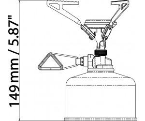 Газовая горелка Primus MicronTrail Stove