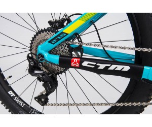 Велосипед CTM Scroll Pro (black/mint) 2018 года (Б/У)