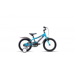 Детский велосипед CTM Foxy (matt blue/reflex orange) 2018 год фото, купить, киев, запорожье
