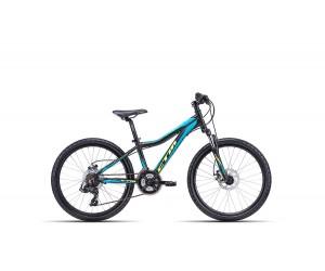 Детский велосипед CTM Rocky 3.0 (matt black/light blue) 2018 год фото, купить, киев, запорожье
