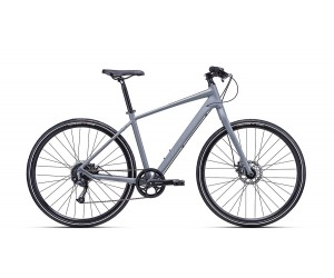 Велосипед CTM District 1.0 (matt steel/grey ) 2018 года