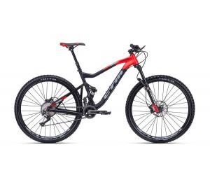 Велосипед CTM Ridge Xpert (matt black/red) 2018 года фото, купить, киев, запорожье