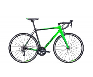 Велосипед CTM Blade 1.0 (matt black/reflex green) 2018 года