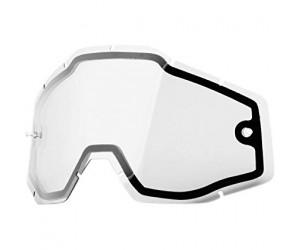 Линза к очкам 100% RACECRAFT/ACCURI/STRATA Dual Replacement Lens - Clear