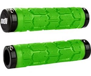 Грипсы ODI Rogue MTB Lock-On 130mm Bonus Pack Lime w/Black Clamps (зелеными с черными замками) фото, купить, киев, запорожье