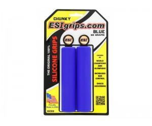 Грипсы ESI Chunky Blue (синие)