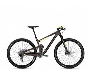 "Велосипед Focus O1E Factory 12G 29"" (Brown/Fluo Yellowmatt)"