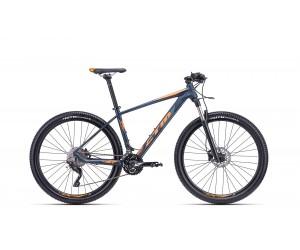 Велосипед CTM Caliber 1.0 (matt petroleum/orange) 2018 года