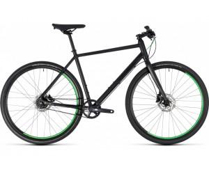 Велосипед Cube Hyde Race (black´n´green) 2018 год фото, купить, киев, запорожье