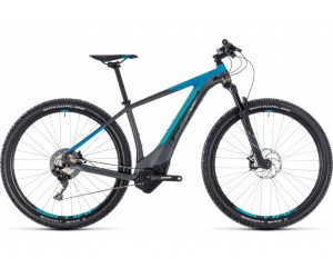 Электровелосипед Cube Reaction Hybrid SL 500 (iridium´n´blue) 2018 года