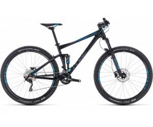 Велосипед CUBE Stereo 120 (black´n´blue) 2018 год фото, купить, киев, запорожье