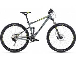 Велосипед CUBE Stereo 120 Pro (grey´n´flashyellow) 2018 год фото, купить, киев, запорожье