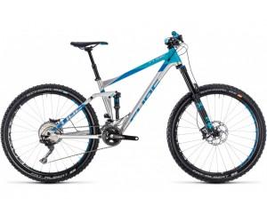 Велосипед Cube Stereo 160 HPA SL 27.5 (metal´n´blue ) 2018 год фото, купить, киев, запорожье
