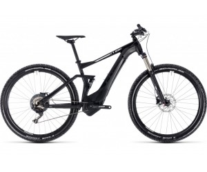 Электровелосипед Cube Hybrid 120 Pro 500 (black´n´white) 2018 года фото, купить, киев, запорожье