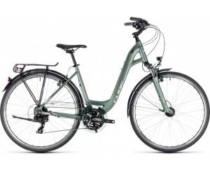 Велосипед Cube Touring (green´n´silver) 2018 год фото, купить, киев, запорожье