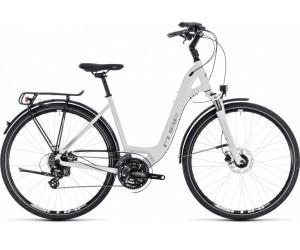 Велосипед Cube Touring Pro (white´n´silver) 2018 фото, купить, киев, запорожье