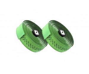 Обмотка руля ODI 3.5mm Dual-Ply Performance Bar Tape - Green/White (зелено-белая) фото, купить, киев, запорожье