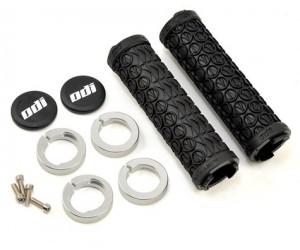 Грипсы ODI SDG LOCK-ON GRIPS Black w/Black Clamps (черные с черными замками)