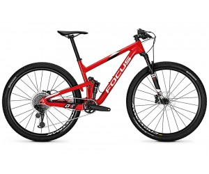 "Велосипед Focus O1E Pro 12G 29"" (Red/White)"