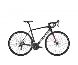 """Шоссейный велосипед Focus Paralane AL Tiagra 20G 28"""" (Wine Red)"""