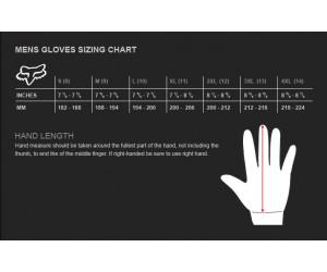 Вело перчатки FOX SIDEWINDER GLOVE