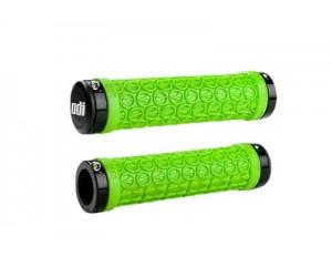 Грипсы ODI SDG LOCK-ON GRIPS Green w/Black Clamps (черные с черными замками) фото, купить, киев, запорожье