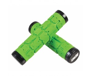 Грипсы ODI Rogue MTB Lock-On 130mm Bonus Pack Lime w/Black Clamps (зелеными с черными замками)