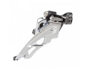 Переключатель передний Shimano FD-M8000-L DEORE XT, 3X11 LOW CLAMP, SIDE-SWING, передняя тяга, хомут
