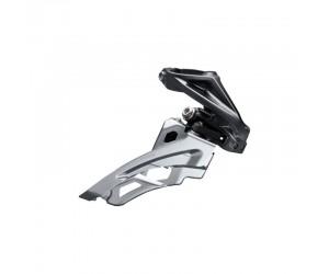 Переключатель передний Shimano FD-M6000-H, DEORE 3X10, HIGH CLAMP, SIDE SWING, FRONT-PULL, хамут фото, купить, киев, запорожье