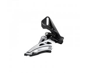 Переключатель передний Shimano FD-M6020-D, DEORE 2X10, SIDE SWING, FRONT-PULL, прямой монтаж фото, купить, киев, запорожье