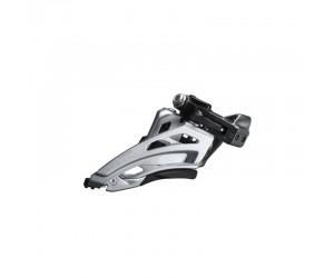 Переключатель передний Shimano FD-M6020-L, DEORE 2X10, LOW CLAMP, SIDE SWING, FRONT-PULL хомут фото, купить, киев, запорожье