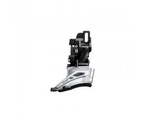 Переключатель передний Shimano FD-M6025-D, DEORE 2X10, DOWN-SWING, DUAL-PULL, прямой монтаж