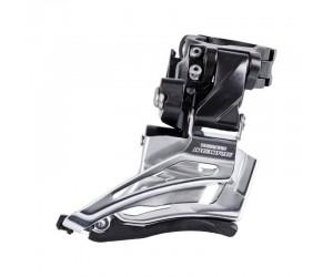 Переключатель передний Shimano FD-M6025-H, DEORE 2X10, HIGH CLAMP, DOWN-SWING, DUAL-PULL хомут