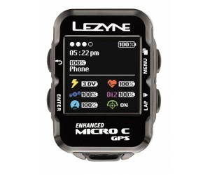 Велокомпьютер Lezyne MICRO COLOR GPS