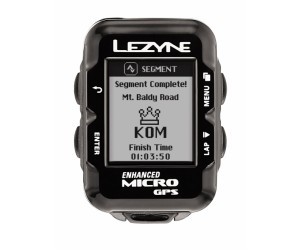 Велокомпьютер с GPS LEZYNE MICRO GPS HR LOADED +Пульсометр